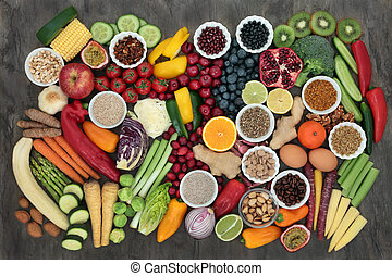 Large Super Food Collection