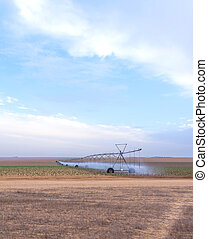 large systems for field irrigation