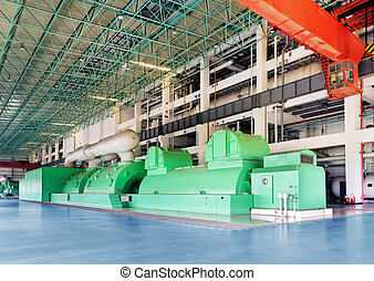Large thermal power machine - Thermal power plants,...