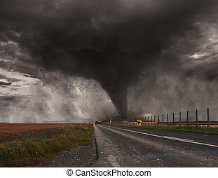 Large Tornado disaster