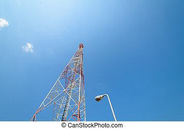 Large transmission tower