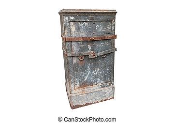 Large vintage safe, strong box.