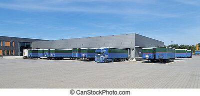 large warehouse building