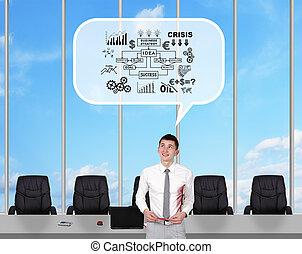 large window in office
