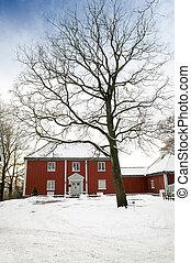 Large Wood House