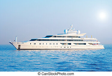 Large yacht - Large private motor yacht