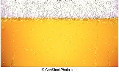 largo, birra, fondo