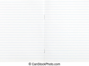 largo, double-page, quaderno, foderare, spalmare
