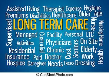 largo plazo, cuidado