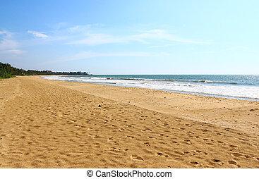 largo, spiaggia, bentota, banda