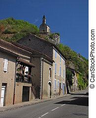 Laroque-des-Arcs, Laroque, Village,
