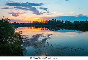 las, jezioro
