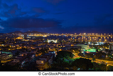 Las Palmas de Gran Canaria, Aerial view
