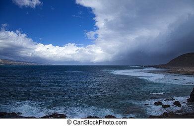 Las Palmas de Gran Canaria, El Confital beach
