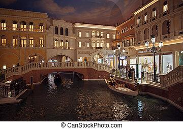 las, photo, nevada, 2014:, casino, vieux, hotel., sables, luxe, ?may, bande, venezia, localisé, site, etats, vegas, interior., vénitien, hôtel, vegas, recours, uni, paradis