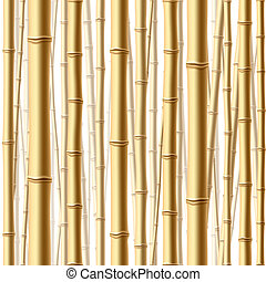 las, seamless, bambus
