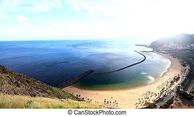 Las Teresitas view on Tenerife