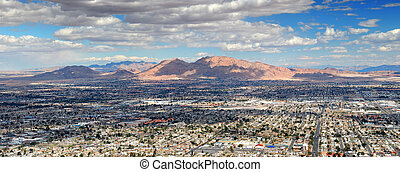 Las Vegas Aerial Panorama