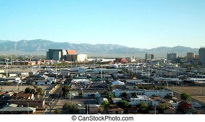 Las Vegas city time lapse day time