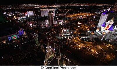 Las Vegas Cityscape, Timelapse - Shot from the NewYork...