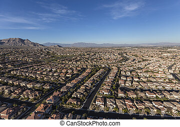 Las Vegas Desert Neighborhood