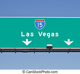Las Vegas Freeway Sign