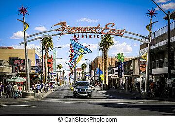 Las Vegas Fremont East District