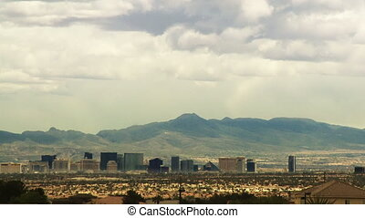 Las Vegas Horizon 01 (Time Lapse) - Time lapse clouds...