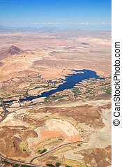 Las Vegas Lake, nevada, Aerial View