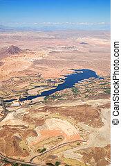 Las Vegas Lake, nevada, Aerial View
