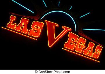 Las Vegas lights