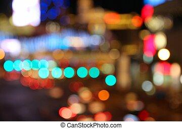 Las Vegas night - Las Vegas, Nevada, United States....