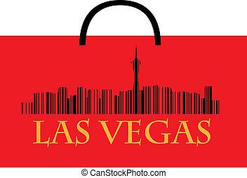 Las Vegas shopping bag