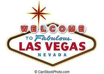 Las Vegas Sign Digital Illustration