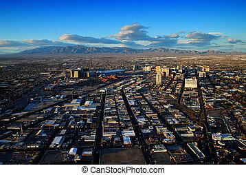 Las Vegas skyline panorama