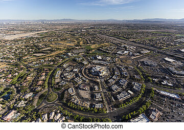 Las Vegas Summerlin Nevada Aerial