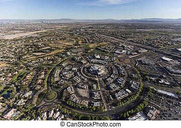 Las Vegas Summerlin Nevada Aerial