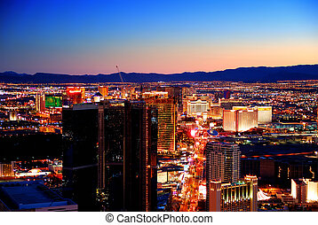 Las Vegas sunset - Las Vegas, Nevada - March 3, Las Vegas...
