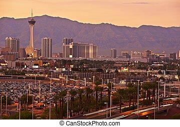Las Vegas Sunset Skyline