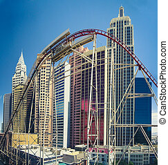 The New York, New York hotel and Casino in Las Vegas