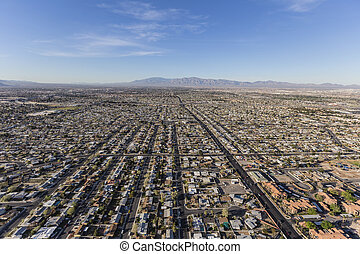 Las Vegas Valley Aerial