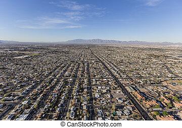 Las Vegas Valley Aerial