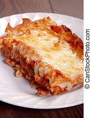 lasagne, délicieux