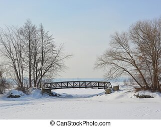Lasalle Park, Winter