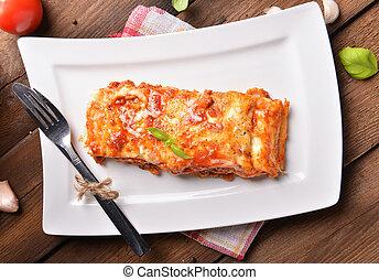 lasanha, bolonhês