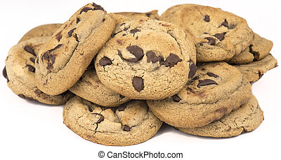 lasca, biscoitos, chocolate