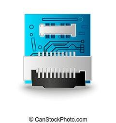 lasca, computador, processador