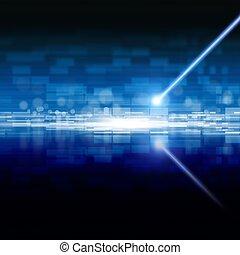 laser, abstrakt, lagerung