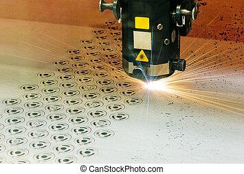laser, coupeur