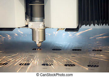 laser cutting machine technology industry background in...